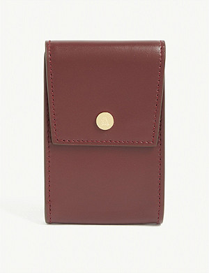 MARK CROSS Leather card holder