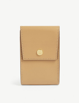 MARK CROSS Leather cardholder