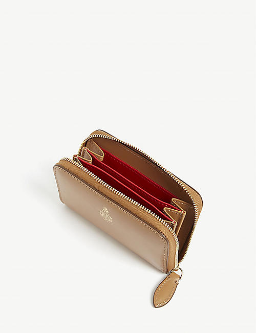 MARK CROSS Grace mini leather zip wallet