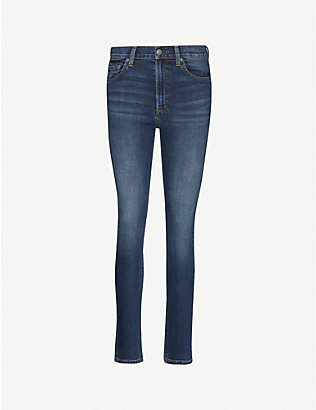 BOYISH: The Donny skinny high-rise jeans