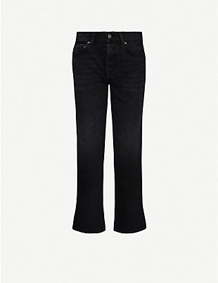 BOYISH: The Tommy straight high-rise jeans
