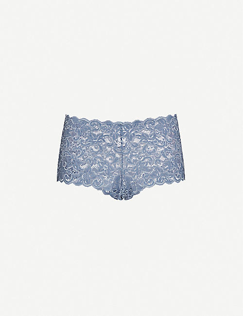 HANRO Moments high-rise floral-lace briefs