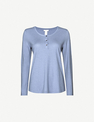 HANRO Sleep & Lounge cotton-blend top
