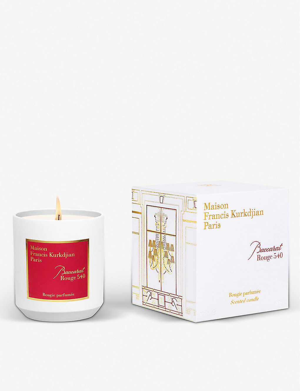 MAISON FRANCIS KURKDJIAN: Baccarat Rouge 540 scented candle 280g