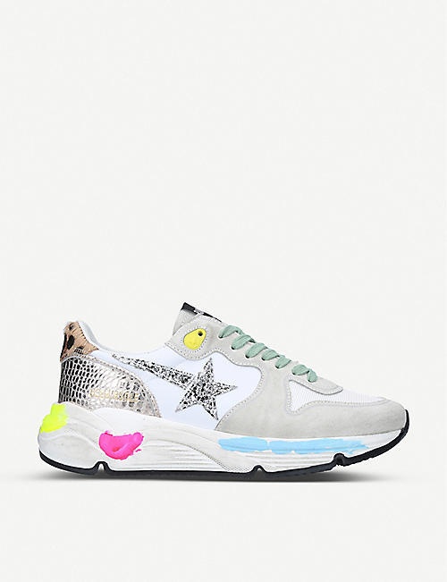 GOLDEN GOOSE Running Sole L8 leather trainers
