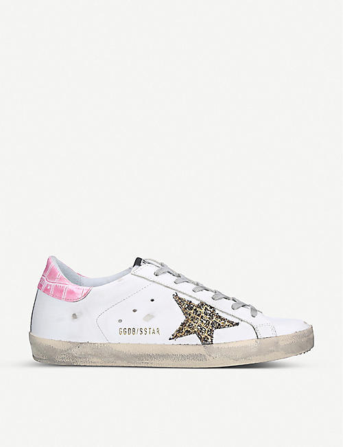 GOLDEN GOOSE Superstar S58 leather trainers