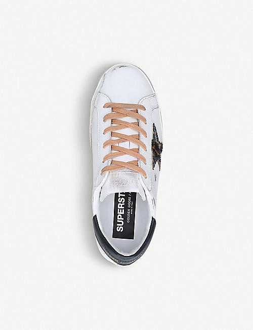GOLDEN GOOSE Superstar T54 leather trainers