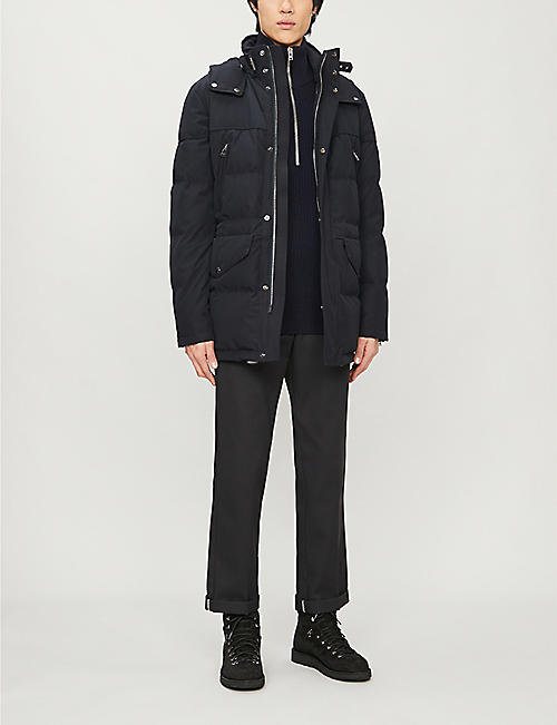 BELSTAFF Traverse shell-down jacket