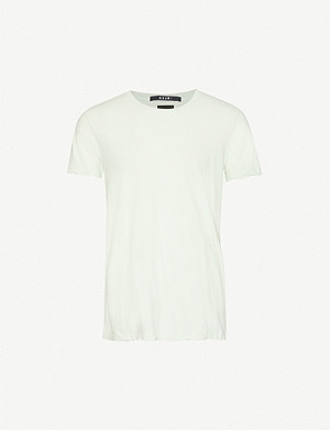 KSUBI Crewneck cotton-jersey T-shirt