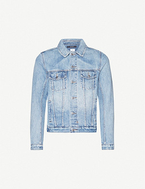 KSUBI Embroidered denim jacket