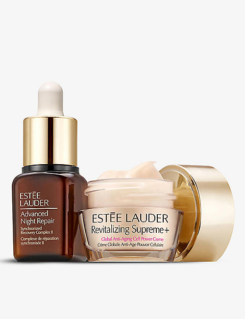 ESTEE LAUDER: Revitalizing Supreme Cream & Advanced Night Repair Serum Duo Set