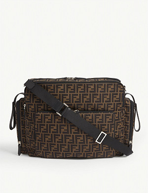 FENDI FF print changing bag