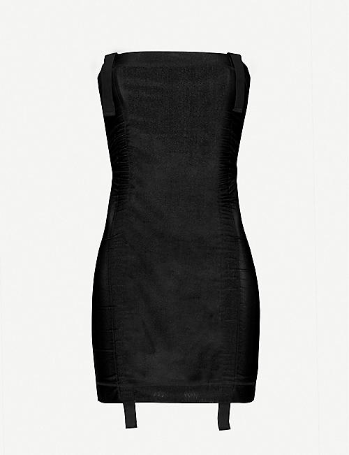 CHARLOTTE KNOWLES: Sskinn strapless stretch-woven mini dress