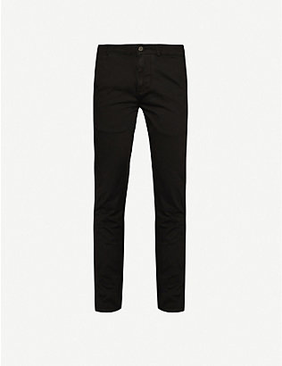 7 FOR ALL MANKIND: Ronnie Chino Luxe Performance tapered-fit trousers