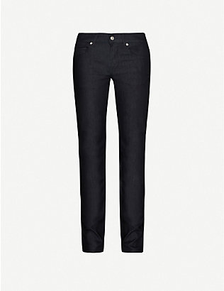7 FOR ALL MANKIND: Slimmy Weightless slim-leg jeans