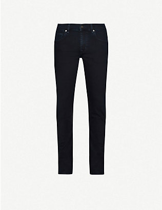 7 FOR ALL MANKIND: Slimmy Luxe Performance slim jeans