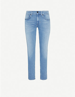 7 FOR ALL MANKIND: Slimmy Tapered Luxe Performance Plus slim jeans