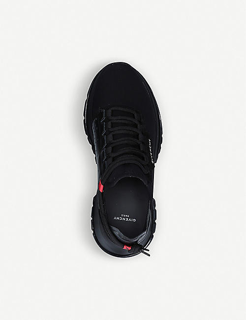 GIVENCHY Spectre neoprene and leather trainers