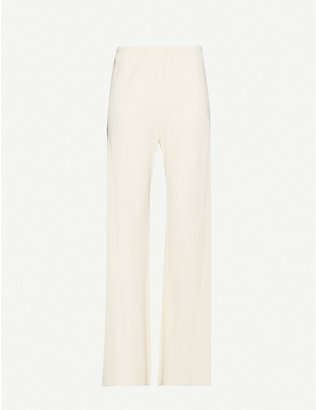 THE ROW: Gala wide-leg high-rise woven trousers