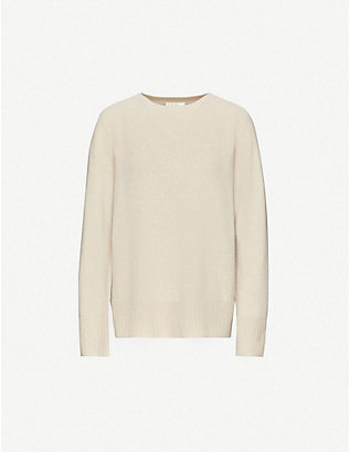 THE ROW: Sibel relaxed-fit wool and cashmere-blend jumper