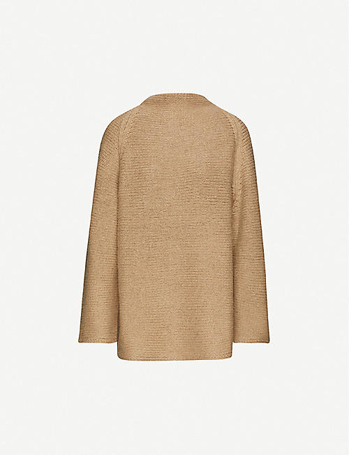 THE ROW Mayata high-neck cashmere jumper