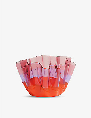 CORSI DESIGN: Sfumati soft-resin vase 20cm