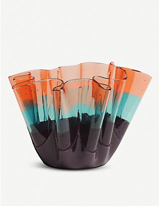 CORSI DESIGN: Sfumati soft-resin vase 25cm