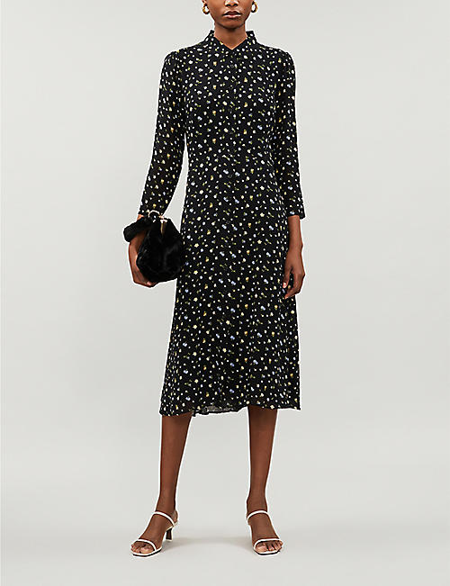 REFORMATION Arcadia floral-print crepe dress