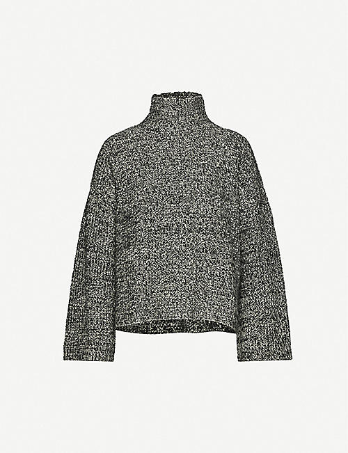 REFORMATION Fern high-neck yak jumper