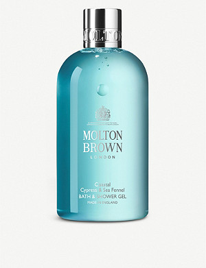 MOLTON BROWN Cypress & Sea Fennel bath & shower gel 300ml