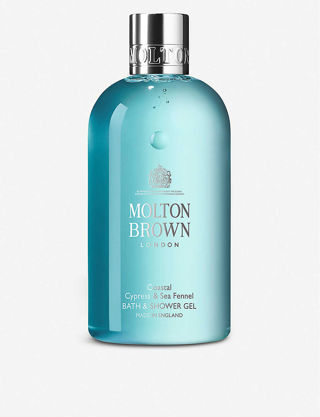 MOLTON BROWN: Cypress & Sea Fennel bath & shower gel 300ml
