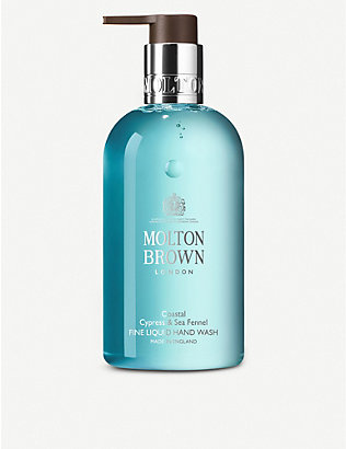 MOLTON BROWN: Cyprus & Sea Fennel liquid handwash 300ml