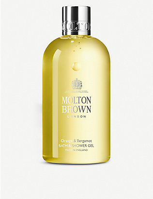 MOLTON BROWN: Orange and bergamot shower gel 300ml