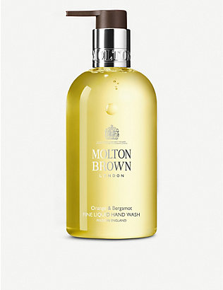 MOLTON BROWN: Orange & Bergamot Fine Liquid Hand Wash 300ml