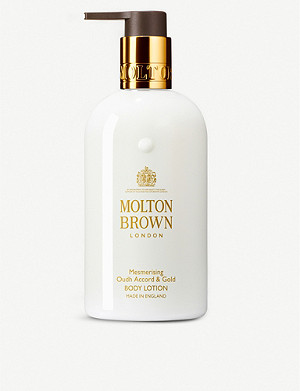MOLTON BROWN Oudh accord and gold body lotion