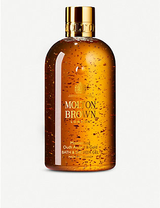 MOLTON BROWN: Oudh accord and gold shower gel 300ml