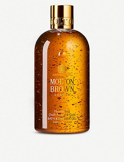 MOLTON BROWN:Oudh 黄金沐浴露 300 毫升