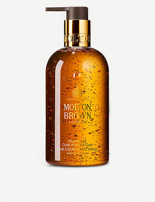 MOLTON BROWN Oudh accord and gold liquid hand wash 300ml
