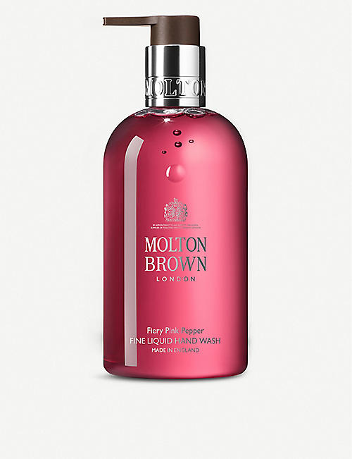 MOLTON BROWN: Fiery Pink Pepper liquid hand wash 300ml