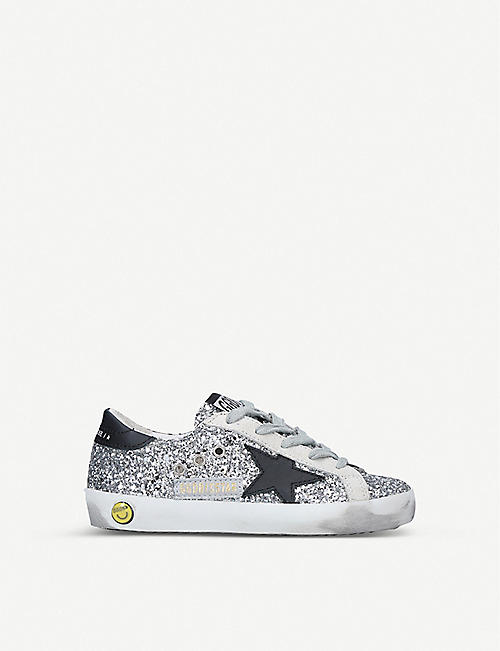 GOLDEN GOOSE Superstar B45 leather trainers 6 months-5 years