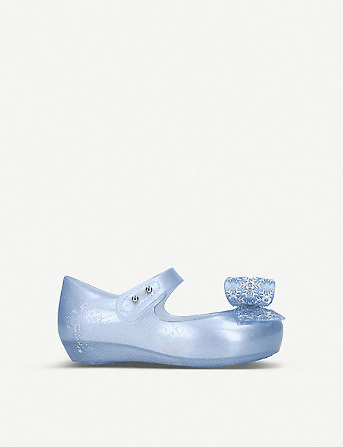 MINI MELISSA: Disney Frozen snowflake-bow maryjane flats 6 months-5 years