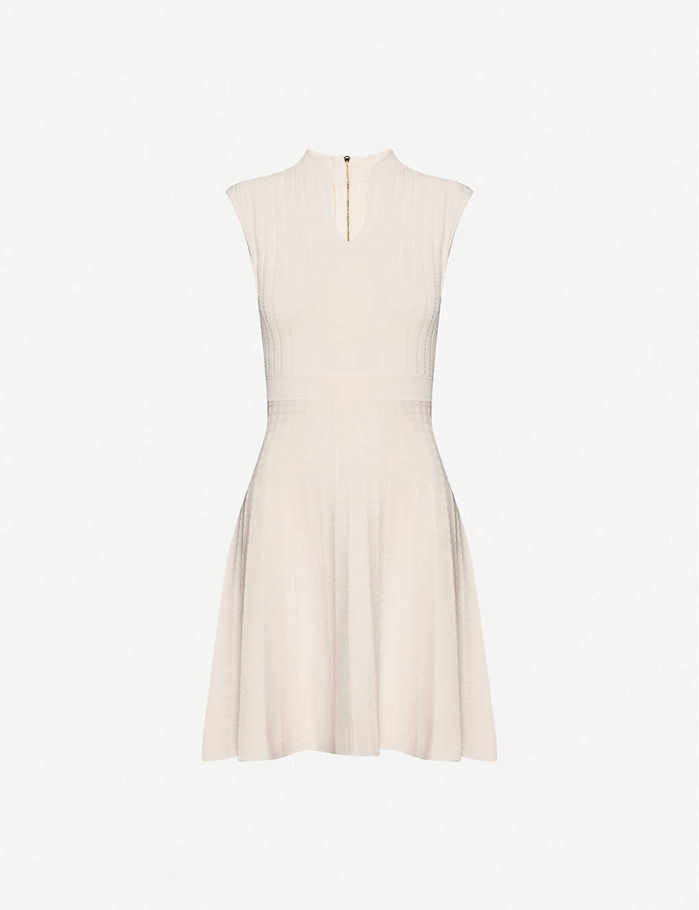 TED BAKER: Sharn sleeveless woven midi dress