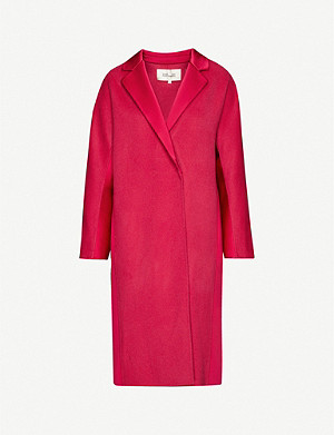 DIANE VON FURSTENBERG Perilla notch-lapel wool coat
