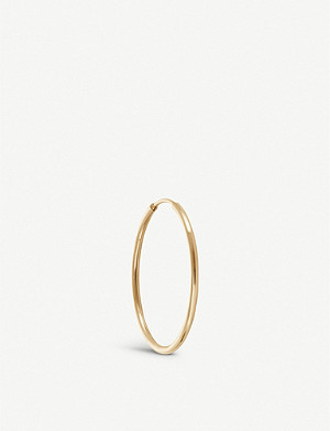 OTIUMBERG Endless 9ct yellow-gold hoop 18mm