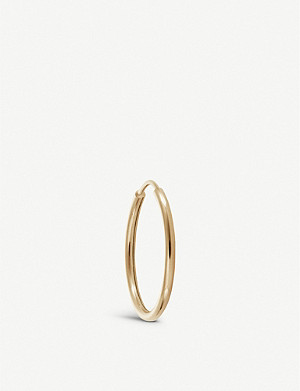 OTIUMBERG Endless 9ct yellow-gold hoop 12mm