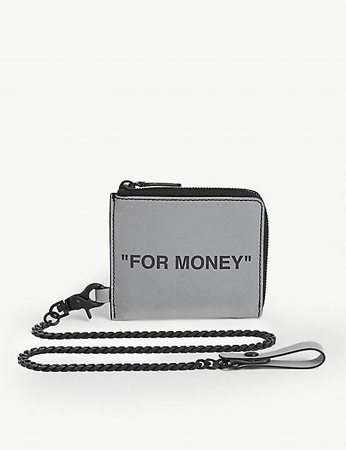 OFF-WHITE C/O VIRGIL ABLOH: Quote chain wallet