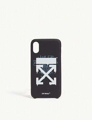 OFF-WHITE C/O VIRGIL ABLOH Arrow phone case iPhone X & Xs
