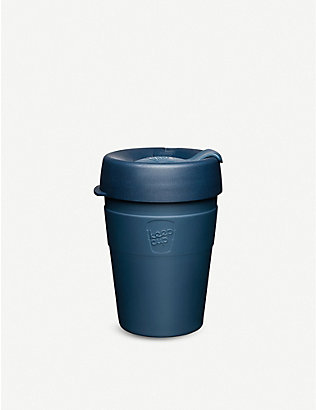 KEEPCUP: Spruce stainless-steel reusable coffee cup 340ml