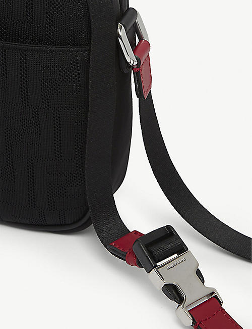 FENDI FF neoprene cross-body bag