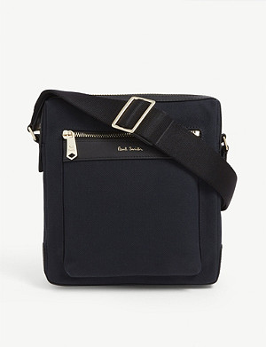 PAUL SMITH ACCESSORIES Canvas crossbody bag